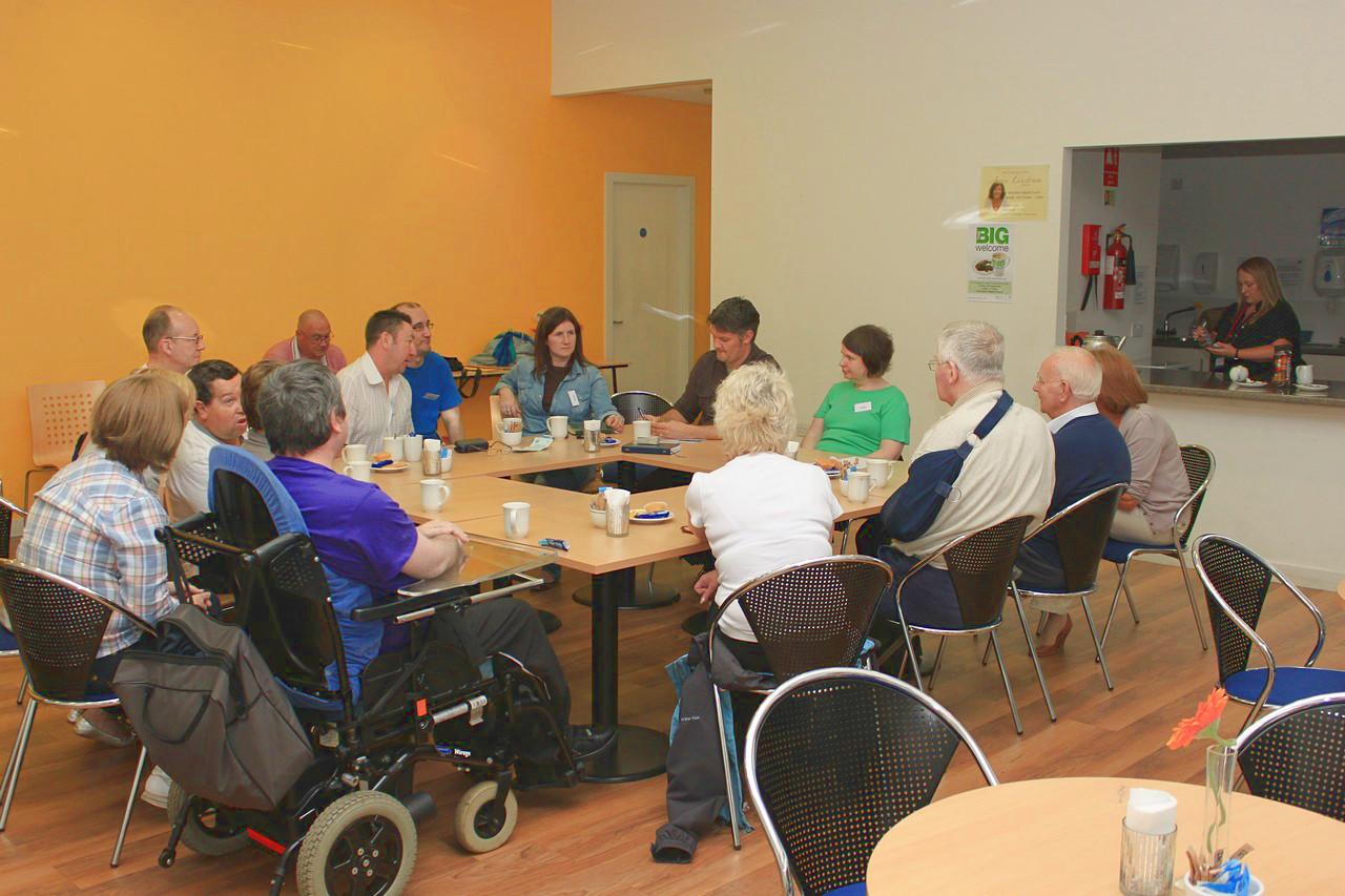 ABI Café group photo