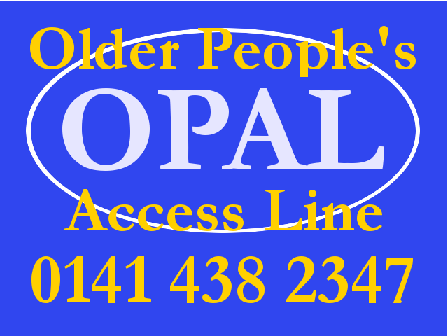 OPAL Logo and phone number