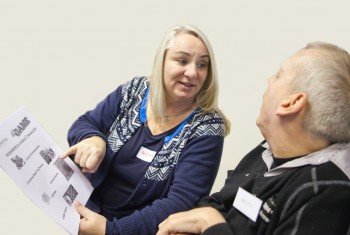 Volunteer and Service User