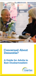 Concerned About Dementia? Leaflet