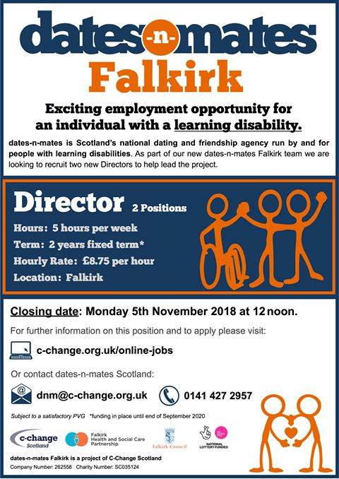 disabled dating agency jobs