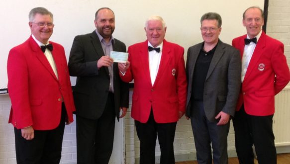 donation from the Kirkintilloch Male Voice Choir