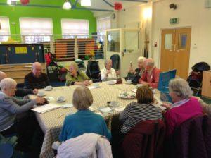 group meet at De Cafe Milngavie
