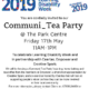 Communi-Tea party poster