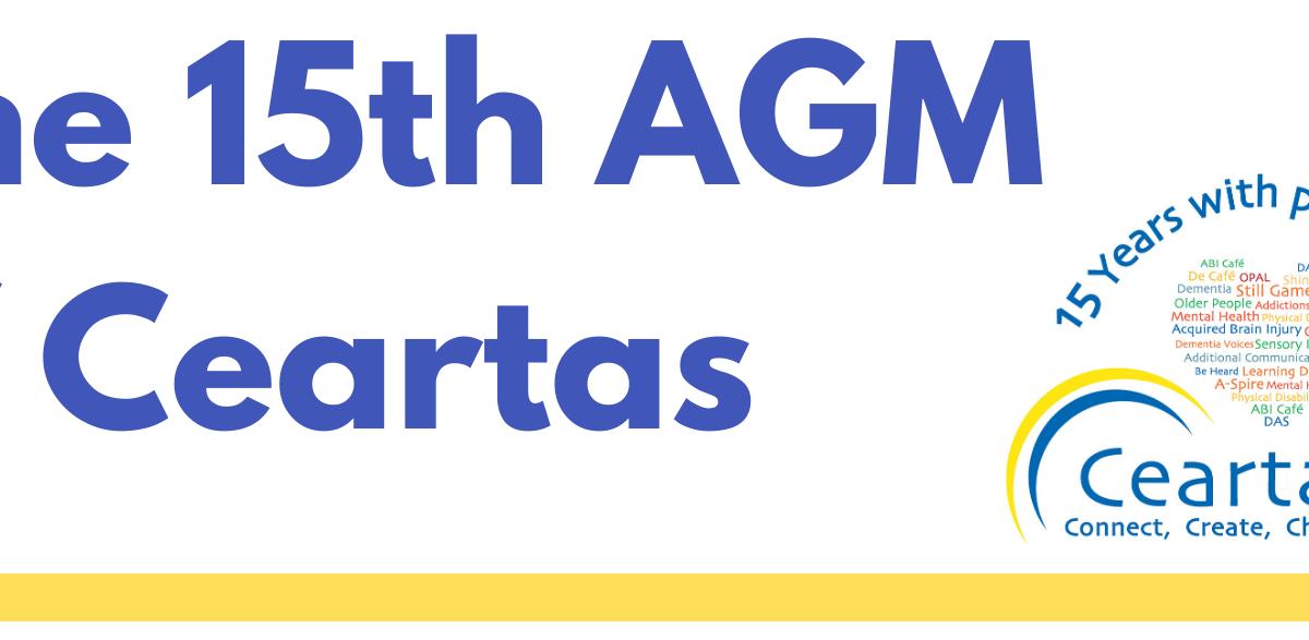 Ceartas 15th AGM header image