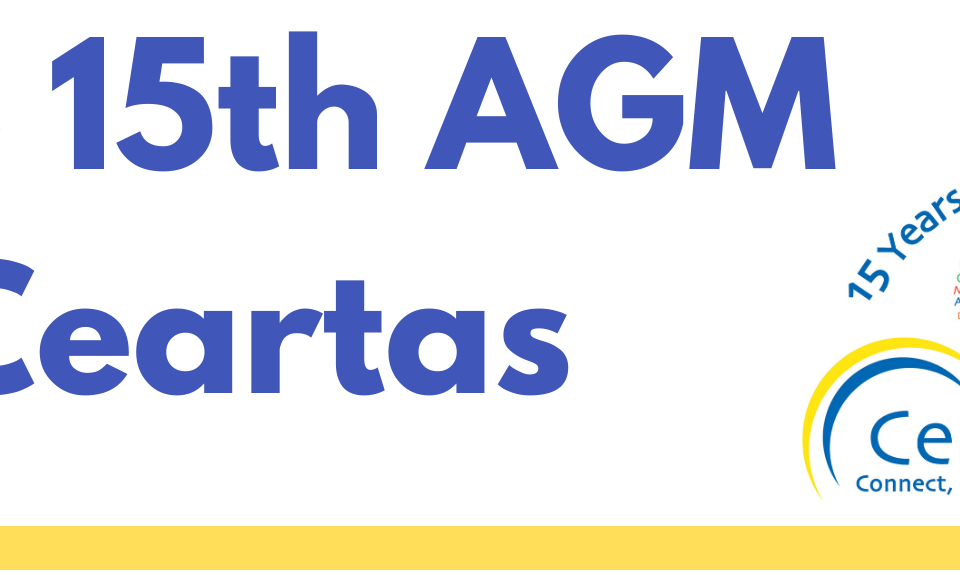Ceartas 15th AGM header image