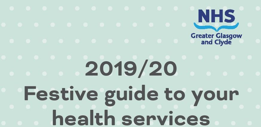 Festive Health Guide header image with title