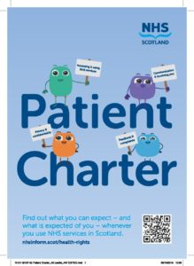 Patient Charter leaflet, page 1